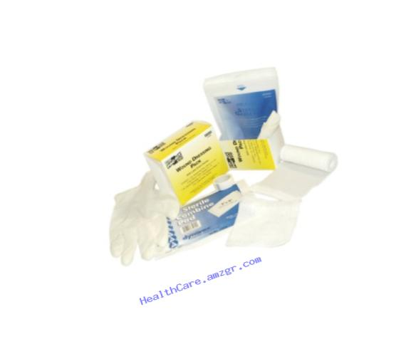 Pac-Kit by First Aid Only 3-950 10 Piece Medium Wound Dressing Kit, For 25 Person First Aid Kits
