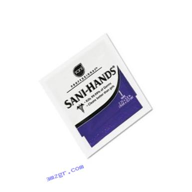 Sani-Hands Hand Sanitizer Wipes 100 Packets Per Box