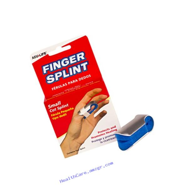 Acu-Life Finger Splint/Cot (Small)