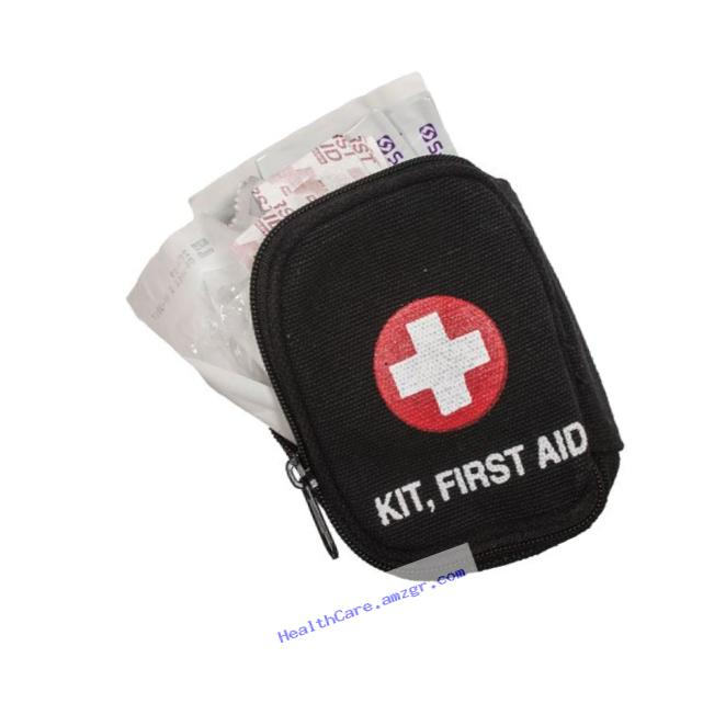 Fox Outdoor Products Soldier Individual First Aid Kit, Black