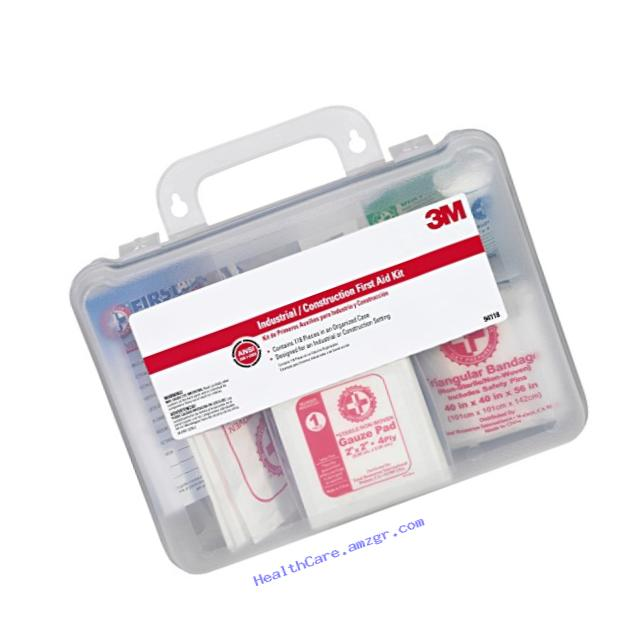 3M 94118-80025T Construction/Industrial First Aid Kits, 118